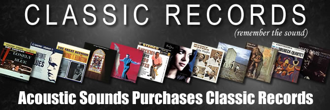 Acoustic Sounds Purchases Classic Records