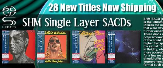 New SHM SACDs