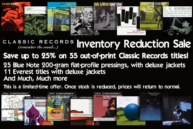 Classic records Sale