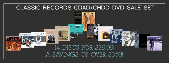 Various Artists - CDAD/CHDD DVD Sale Set