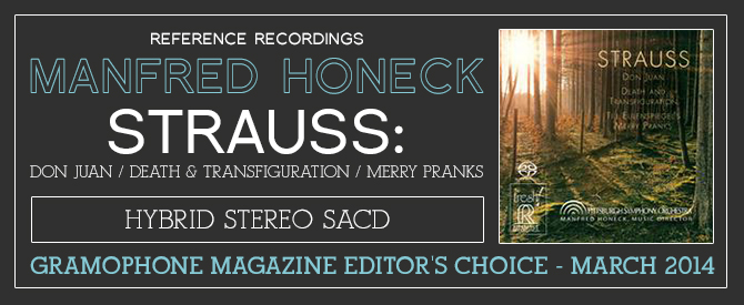 Manfred Honeck - Strauss: Don Juan/ Death & Transfiguration/ Merry Pranks