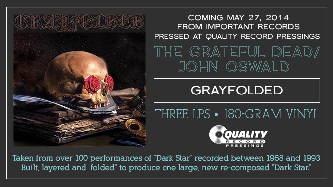 The Grateful Dead/John Oswald - Grayfolded