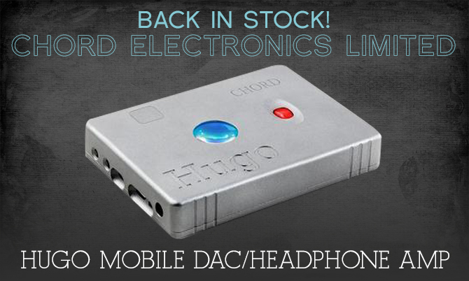 Chord Electronics Limited - Hugo mobile DAC/headphone amp