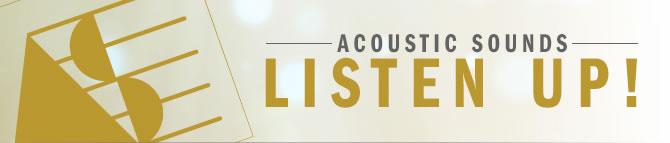 Acoustic Sounds