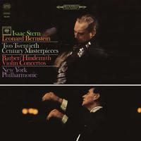Isaac Stern - Barber: Violin Concerto, Op. 14 - Hindemith: Violin Concerto