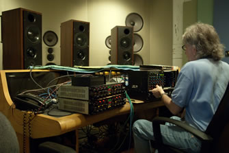Nat King Cole Mastering Session
