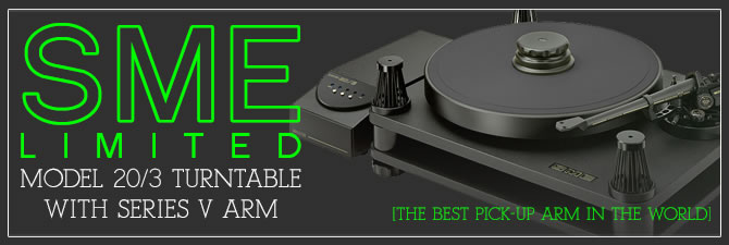 SME Model 20/3 Turntable with Series V Arm