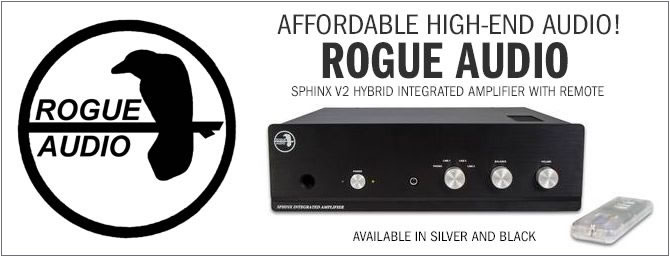 Rogue Audio / Sphinx Hybrid Integrated Amplifier with Remote