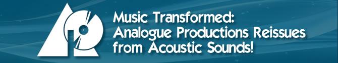 Analogue Productions Acoustic Sounds