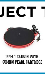 Pro-Ject / RPM 1 Carbon with Sumiko Pearl Cartridge