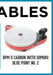 Pro-Ject / RPM 5 Carbon with Sumiko Blue Point No. 2