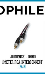 Audience - OHNO 1Meter RCA Interconnect