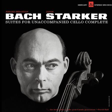Janos Starker - Bach: Suites For Unaccompanied Cello Complete