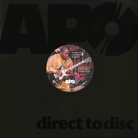 Marquise Knox - Marquise Knox Direct-To-Disc