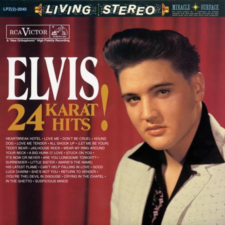 Elvis Presley - 24 Karat Hits