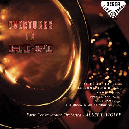 Albert Wolff - Overtures In Hi-Fi