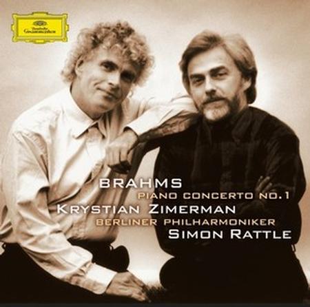 Krystian Zimerman - Brahms: Piano Concerto No. 1/ Sir Simon Rattle