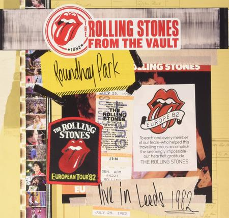 The Rolling Stones - From The Vault: Live At Roundhay Park, Leeds, 1982