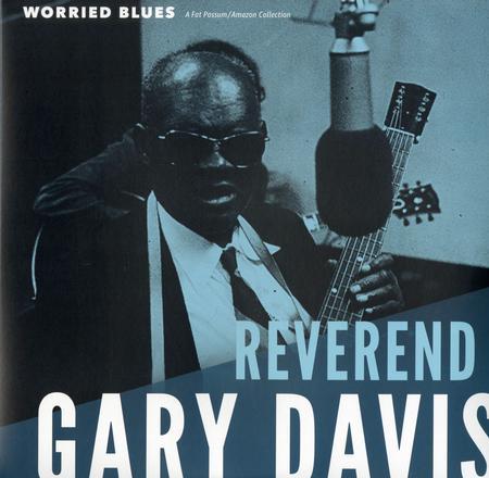 The Reverend Gary Davis - Worried Blues