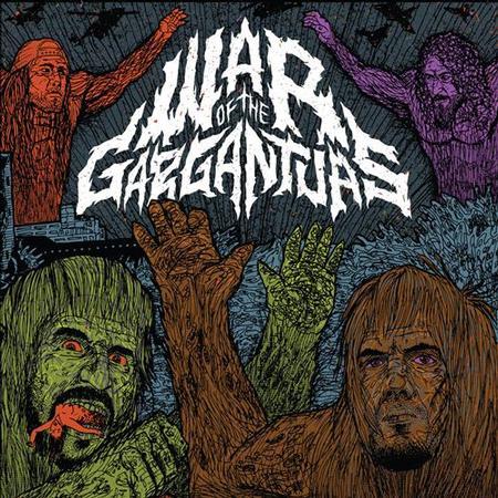Phillip H. Anselmo & Warbeast - War Of The Gargantuas Split