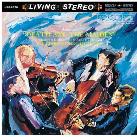 The Julliard String Quartet - Schubert: Death And The Maiden