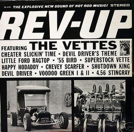 The Vettes - Rev-Up