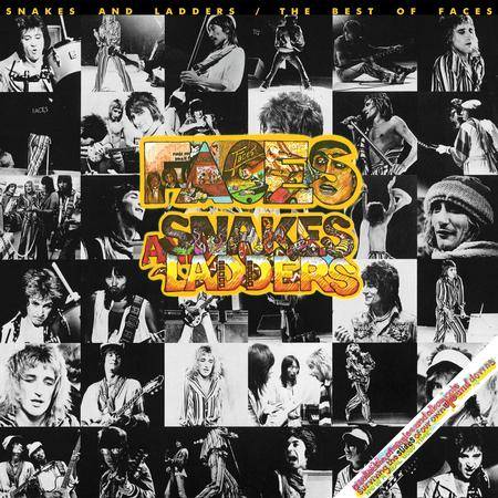 Rod Stewart & Faces - Snakes And Ladders: The Best Of Faces