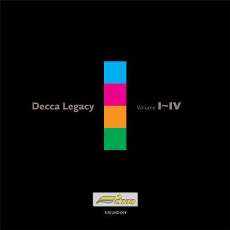 Various Artists - Decca Legacy Volume I-IV