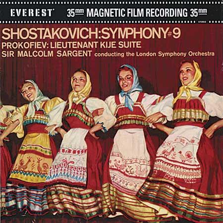 Sir Malcolm Sargent - Prokofiev: Lieutenant Kije Suite / Shostakovich: Symphony no. 9