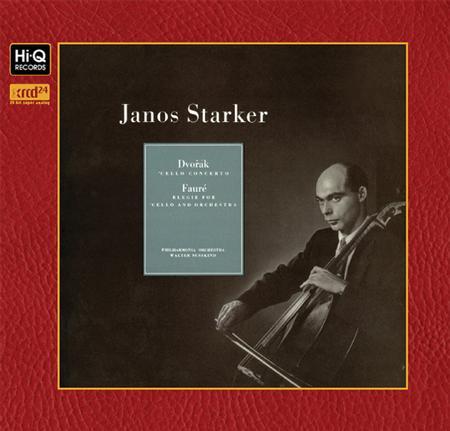 Janos Starker - Dvorak & Faure: Cello Concerto & Elegie For Cello & Orchestra