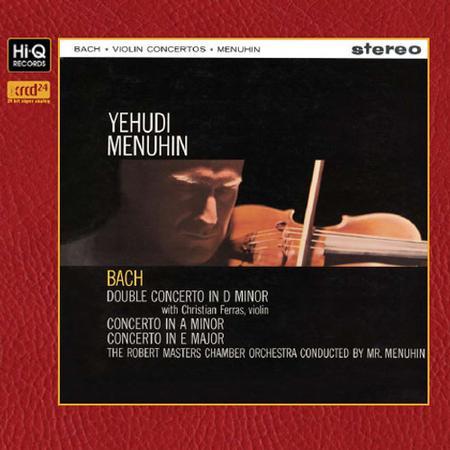 Foss,Menuhin, Michell, Wincenc,Brooklyn Philharmonic - Bach: Violin Concertos