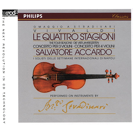 Salvatore Accardo - Vivaldi: The Four Seasons & 2 Concertos