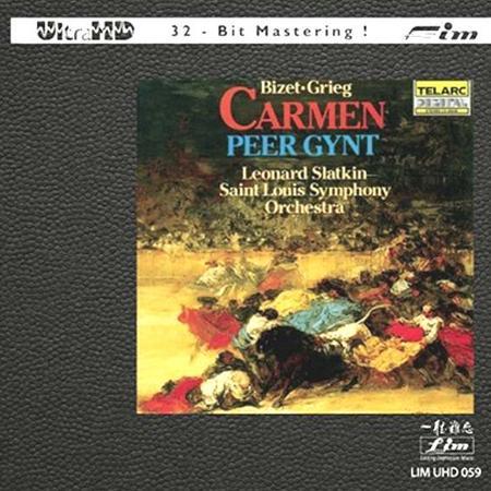 Leonard Slatkin - Bizet & Grieg: Carmen Suite & Peer Gynt