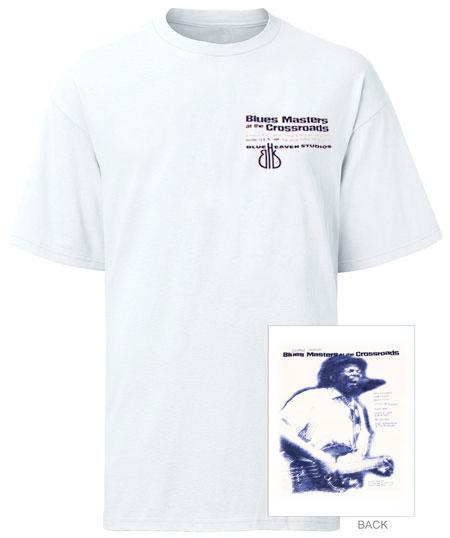 Blue Heaven Studios - 1999 Blues Masters at the Crossroads Short Sleeve T-Shirt