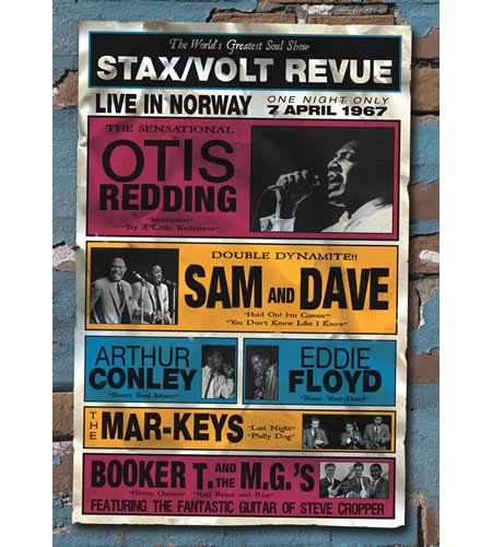 Various Artists - Stax/Volt Revue - Live In Norway 1967