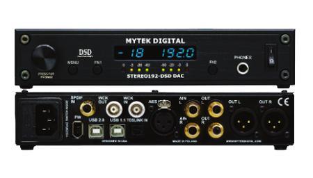 Mytek - Stereo 192-DSD-DAC Preamp Version
