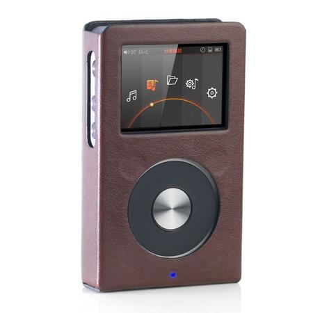 FiiO - Brown Leatherette case LCFX3221 for X3-II