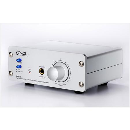 Alpha Design Labs - GT-40 24/96 USB DAC with built-in Headphone Amp and Phonostage