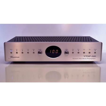 Herron Audio - VTSP-360 Vacuum Tube Stereo Preamp with Remote Control