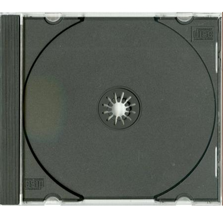 - CD Jewel Case with Black tray