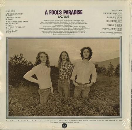 Lazarus - A Fool's Parade