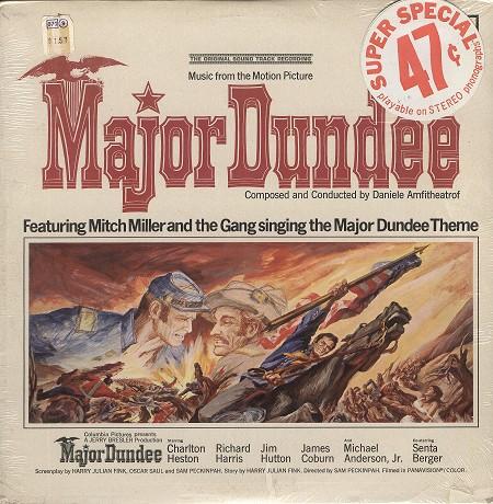 Original Soundtrack - Major Dundee (U.K.)
