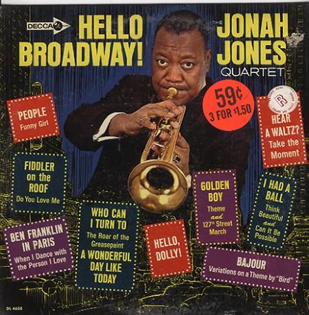 Jonah Jones - Hello Broadway!