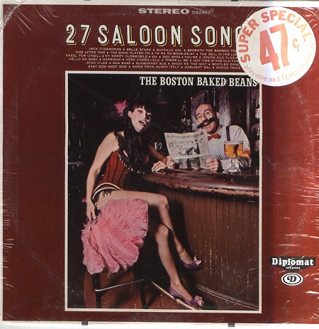 The Boston Baked Beans - 27 Saloon Songs