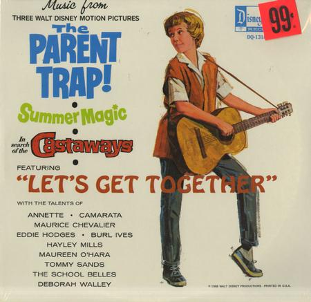Walt Disney - Music from The Parent Trap, Summer Magic, In Search Of The Castaways