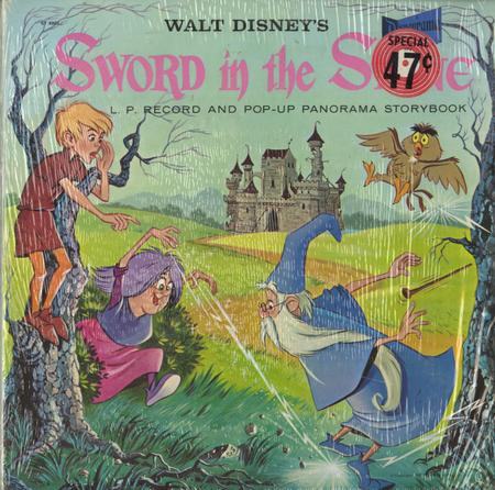 an analysis of the sword in the stone by walt disney A wonderful classic story, told in typical disney style while walt was still alive, and filled with great songs and beautiful animation, how could anyone not fall in love with the sword in the stone.
