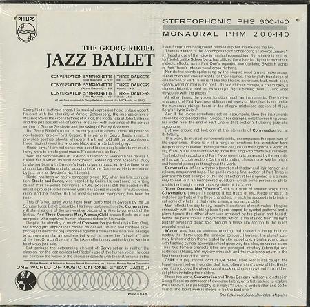 Georg Riedel Jazz Ballet