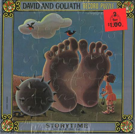 The London Theatre Players - David and Goliath Record Puzzle
