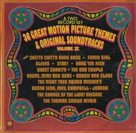 Various Artists - 36 Great Motion Picture Themes & Original Soundtracks Vol. 2