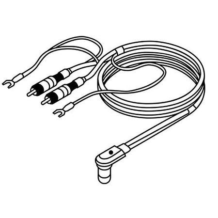 SME - SME vdH D-501 1.2 meter audio lead for Series 300 tonearm